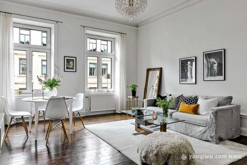 欧式风格客厅装修效果图—大川装饰