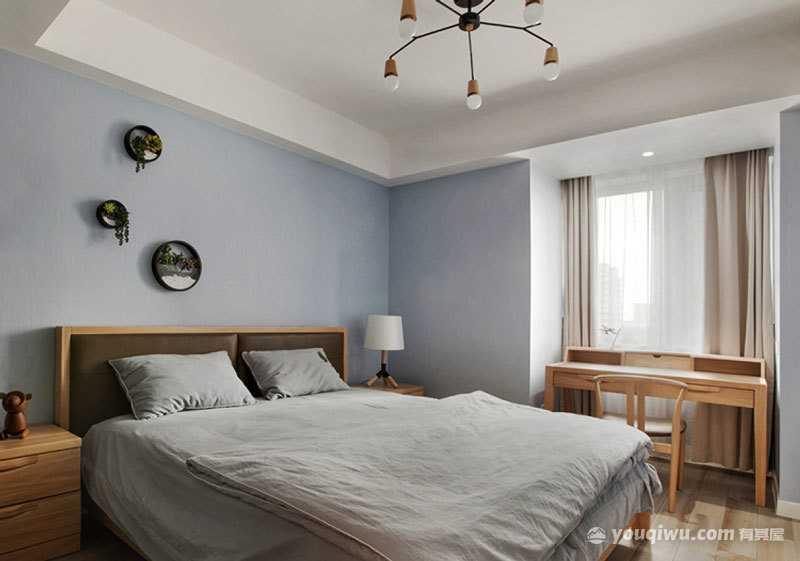 日式风格卧室装修效果图—潍坊e空间装饰设计