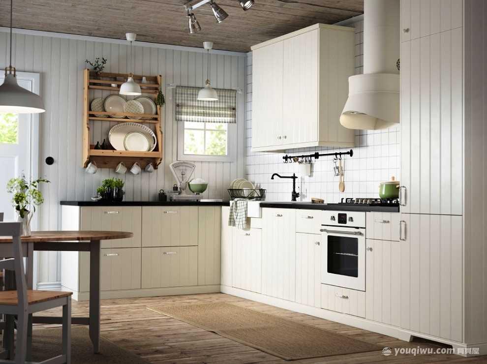 现代简约风格厨房装修效果图—大川装饰