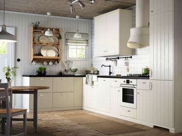 现代简约风格厨房装 ...