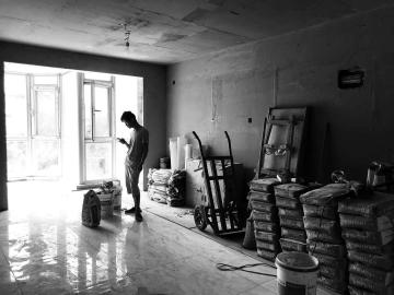 城南家园— —中期施工阶段
