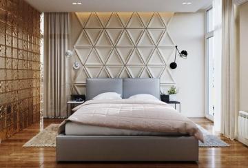 欧式风格卧室装修效 ...