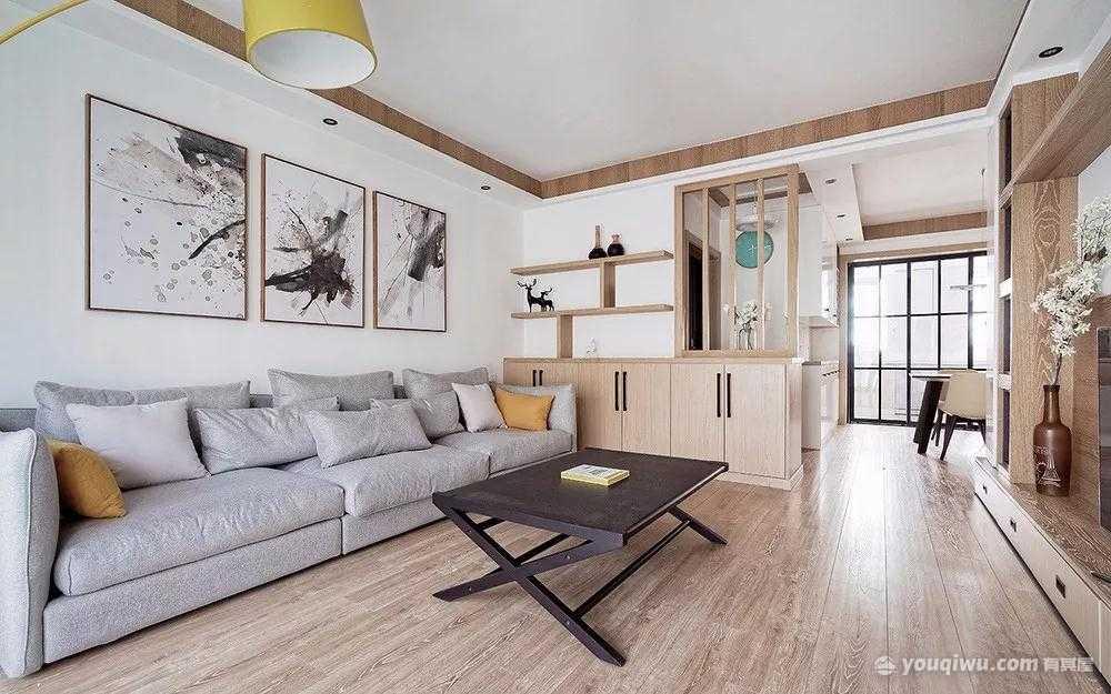 128平方米日式风格装修效果图—东莞燕子居装饰