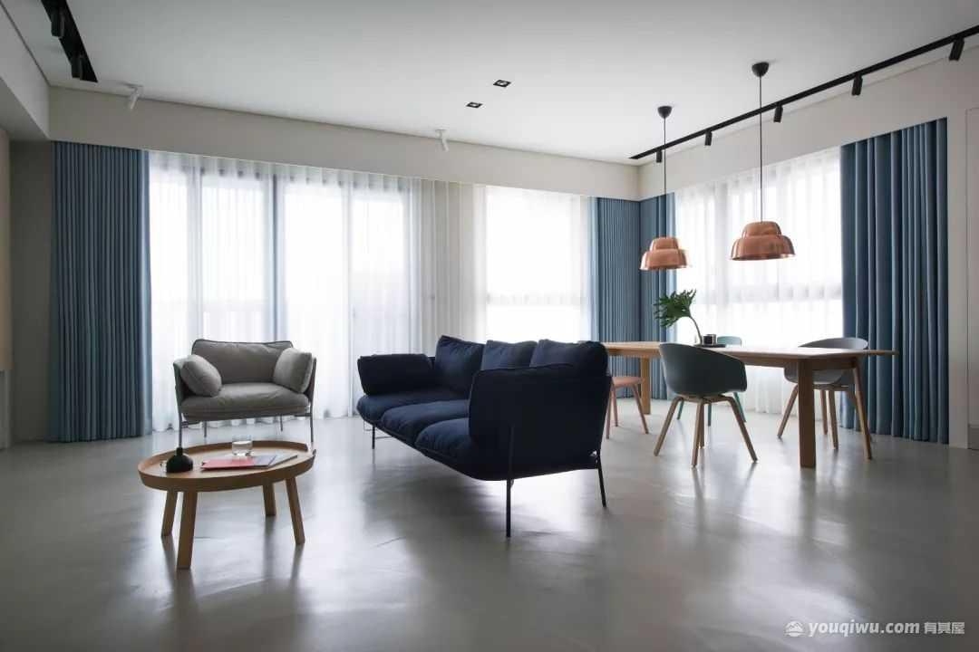 122平方米现代简约风格装修效果图—聚汇装饰