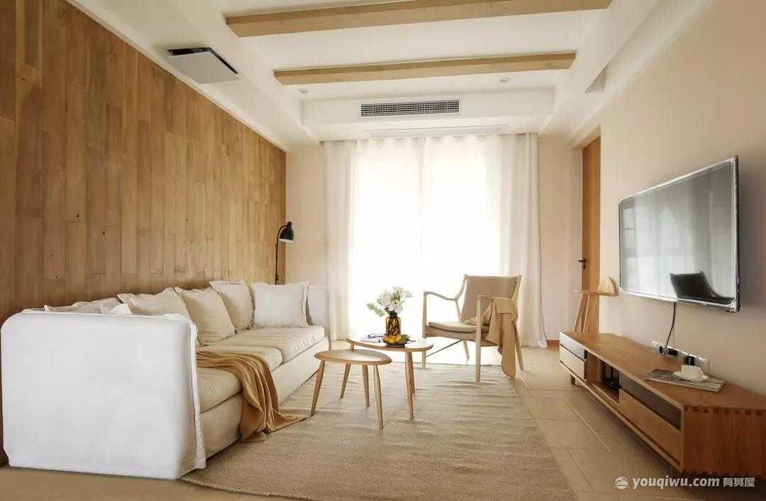 87平方米日式风格装修效果图—景唐装饰