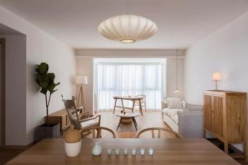 98平方米日式风格装修效果图—左右装饰