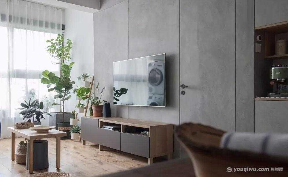 88平方米日式风格装修效果图—天海云宅装饰