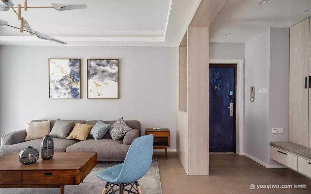 123平方米北欧风格装修效果图—众诚芸装家居