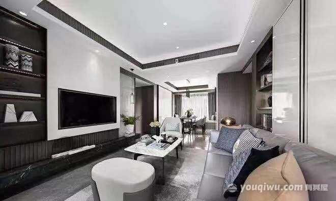 留痕160平方米四居室现代风格装修效果图