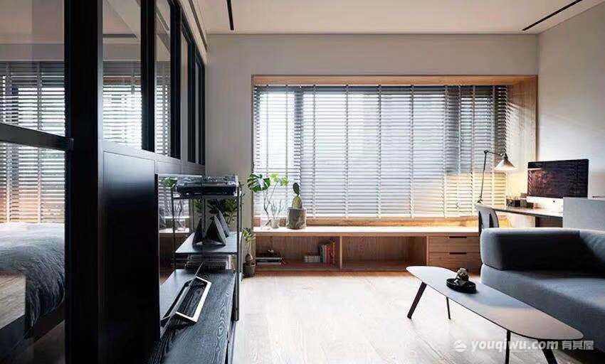 45平方米小户型豪宅现代风格装修效果图