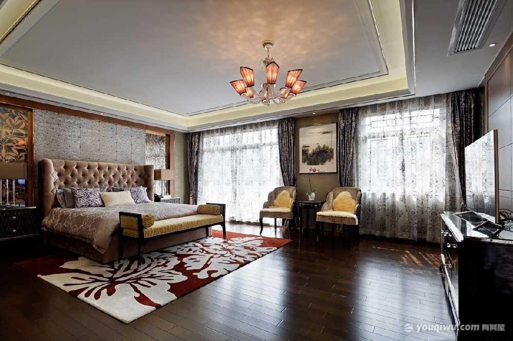 550平米大别墅混搭风格装修效果图