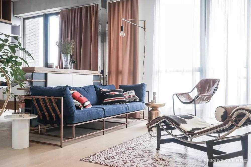 29平方米单身公寓现代简约风格装修效果图—匠知道
