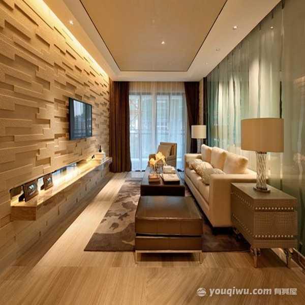 世贸锦绣汉江三居室159平方米简约风格装修效果图