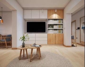 64平方米日式风格装 ...