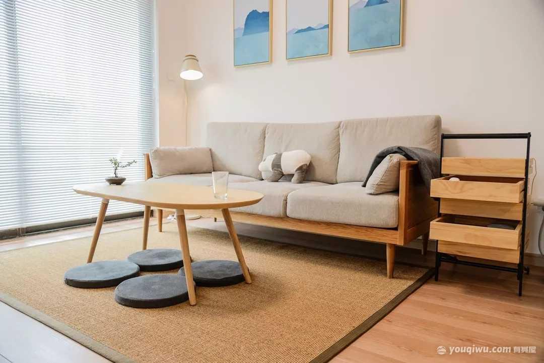85平方米日式风格装修效果图—鼎高装饰设计