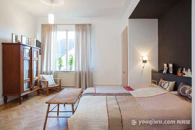 世贸茂悦府90平米三居室北欧瑞典风格装修效果图