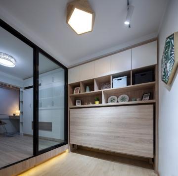 38平方米精致小公寓北欧风格装修效果图