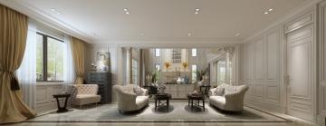 98平米小户型简约风格客厅装修效果图