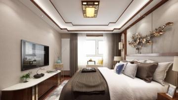 王家湾中央生活区160平米中式风格装修效果图