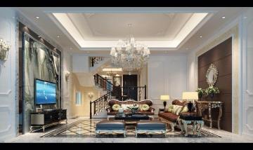 168平米新古典风格装 ...
