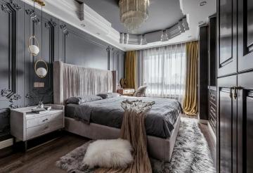 130平米三室意式风格 ...