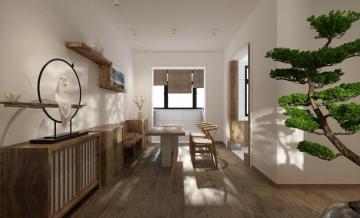 110平米日式原木家居
