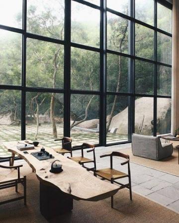 中式茶室空间设计图片