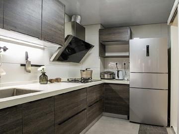 御景新世界98m²田园风格厨房效果图