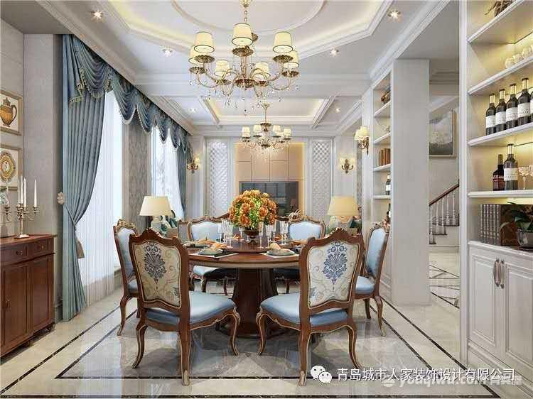 玫瑰园105平三室日式风格装修效果图