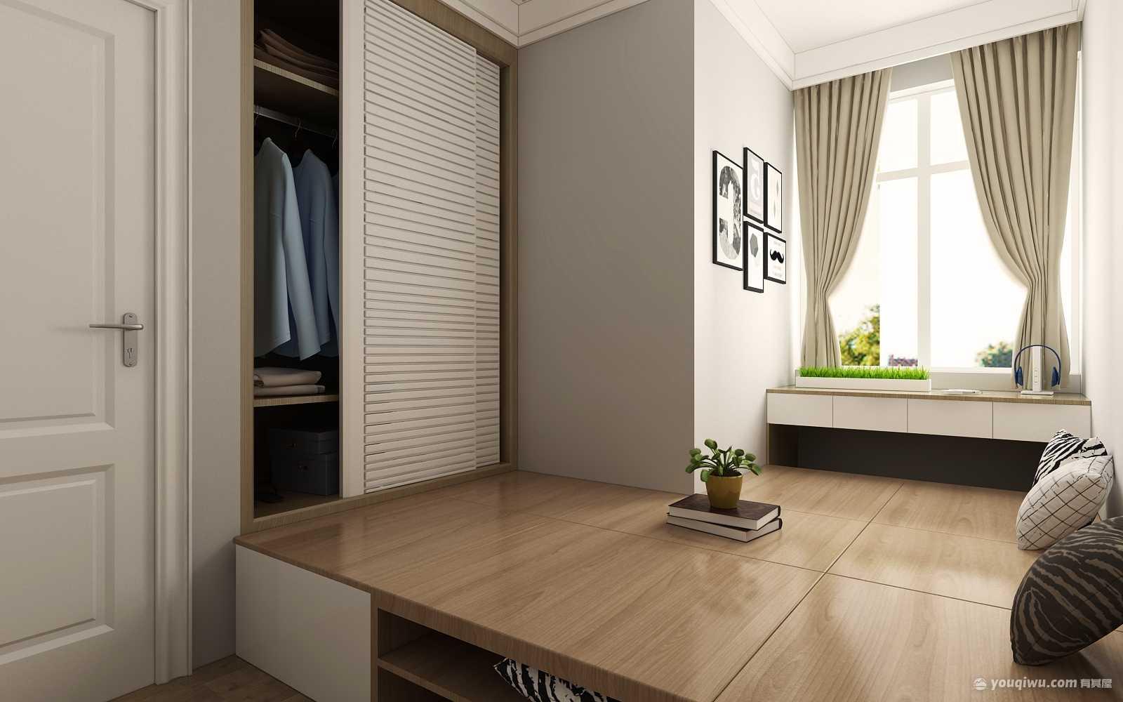 海信天山郡100平三室简约风格装修效果图 姜珊