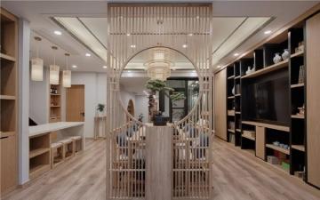 交换空间国博城新中式装修案例