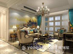 尚海城三居室现代简约风装修效果图