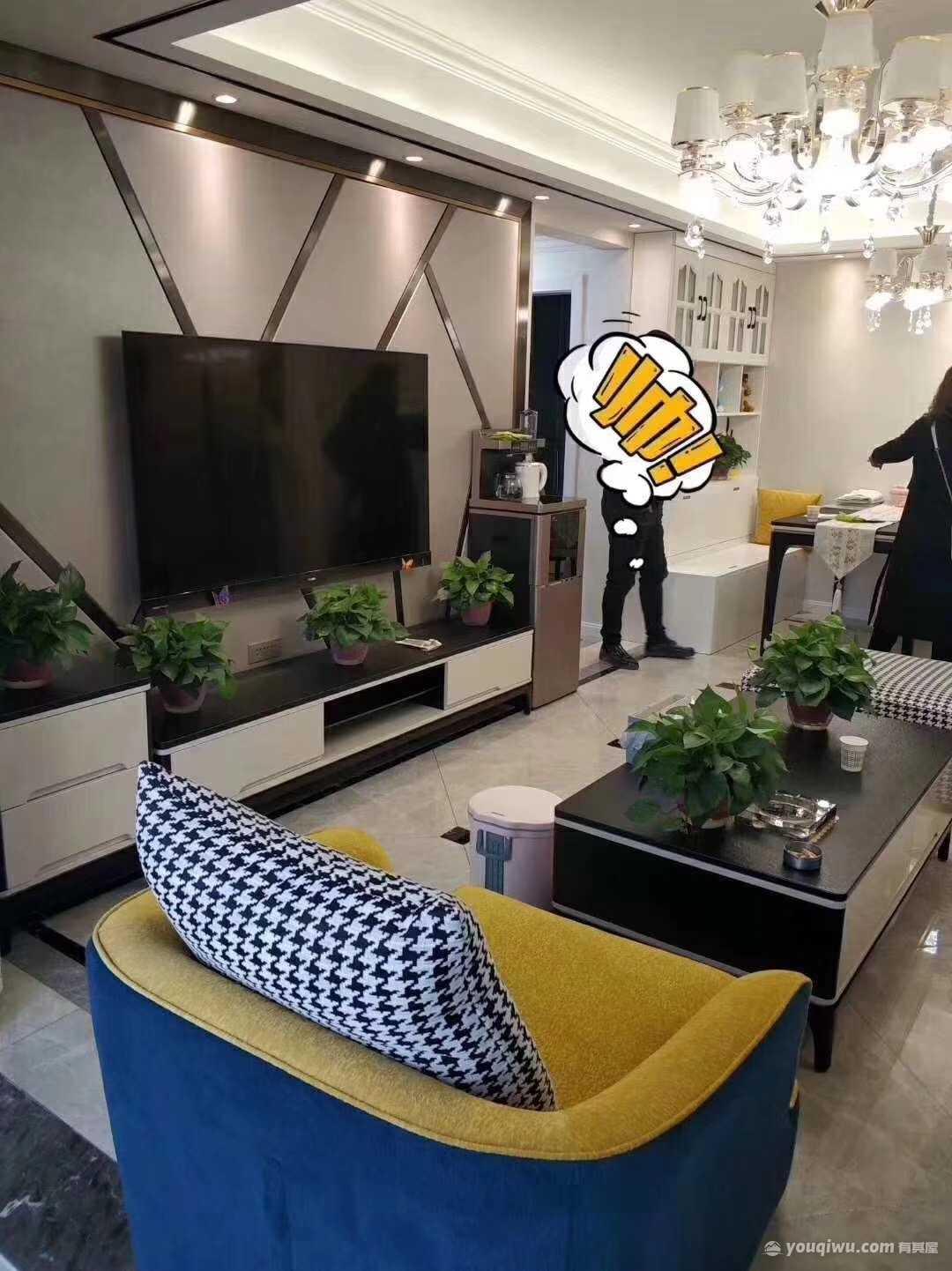 【大唐一品装饰】华远海蓝城110平米别墅现代风装修效果图