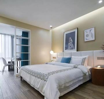 錦溪苑100平的簡約風三室雅居裝修效果圖