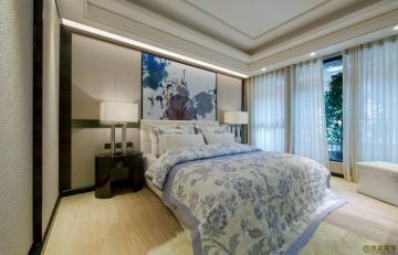 时代年华锦华苑95平两室中式风格装修效果图