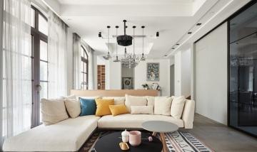 金色雅园140平三居室欧式风格装修效果图