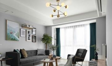 未来城118平三居室欧式风格装修效果图