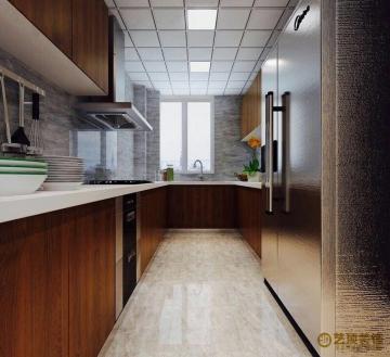 丹瑾园141平四室新中式风格装修效果图