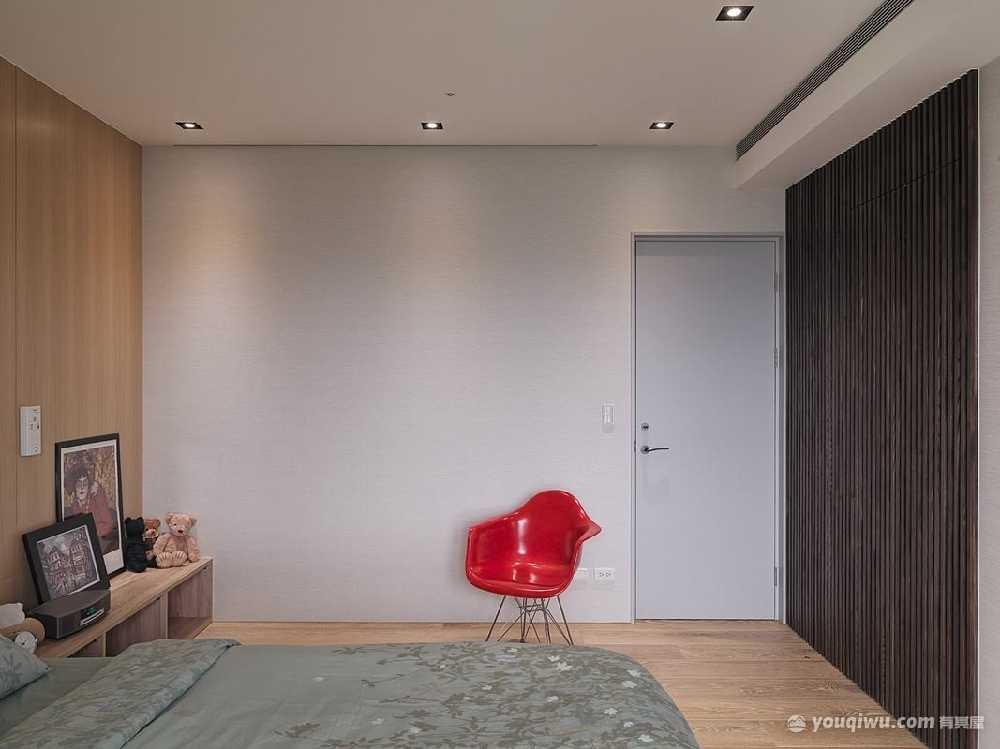 180平二室日式风格装修效果图