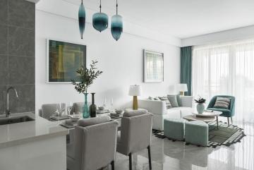 125平四室现代风格装 ...