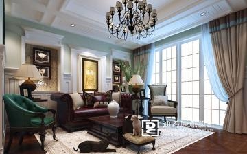 320平别墅美式风格装 ...