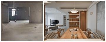 佰昌公馆113平日式风格三室两厅装修设计