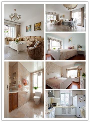 104平三室北欧风格装 ...