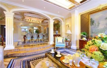 200平四室古典风格装 ...