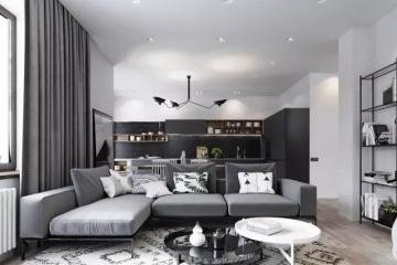 180平四室现代风格装 ...