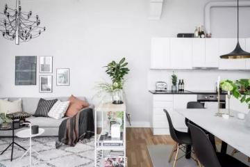 78平二居室现代风格 ...