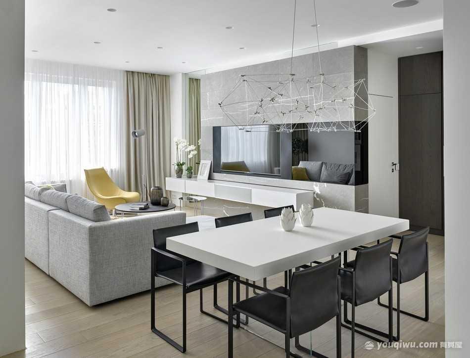小户型公寓现代风格装修效果图