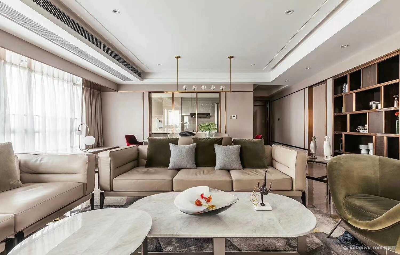 130平三室现代风格装修效果图