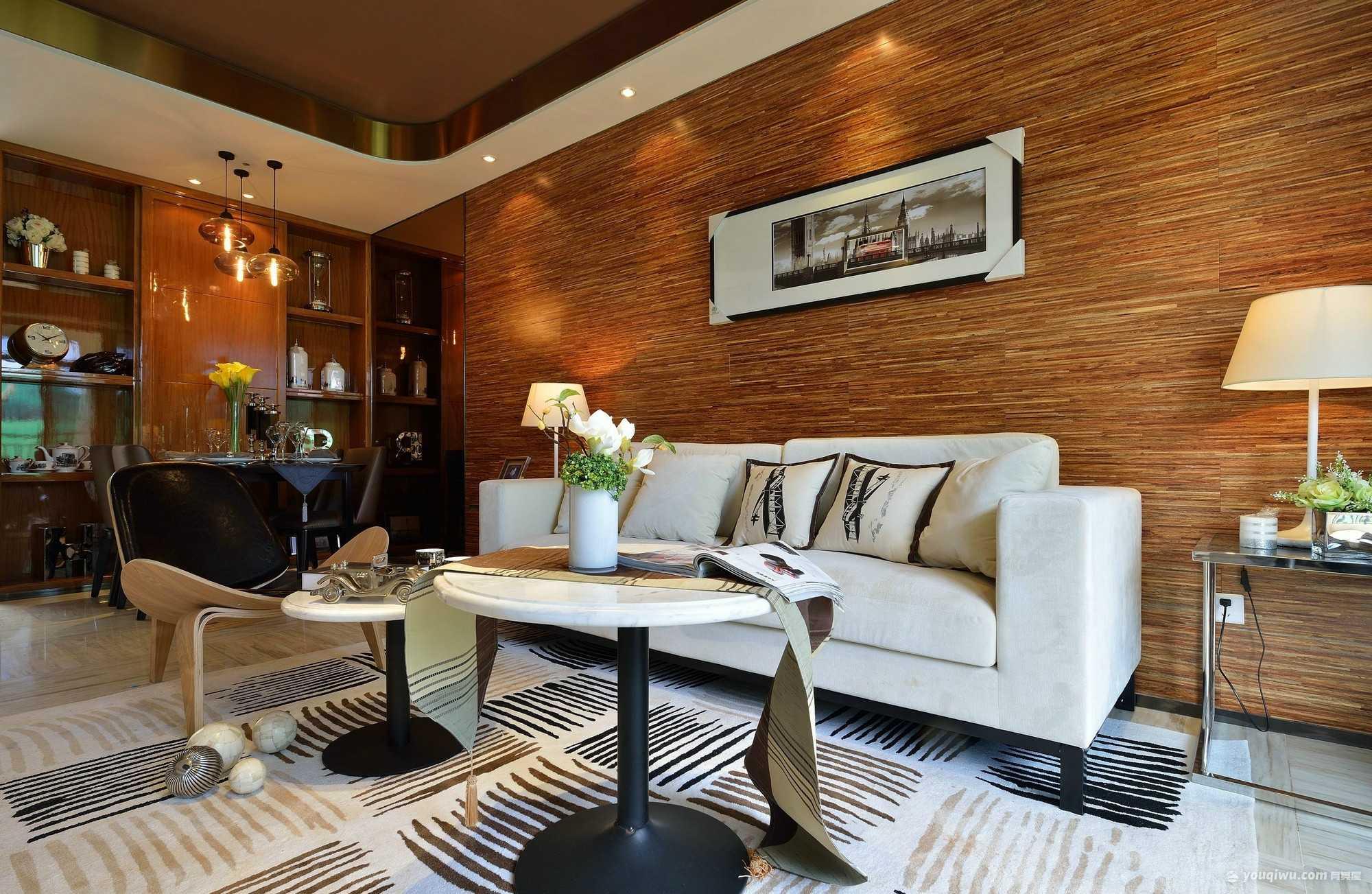 尚领明珠简约三室现代简约风格装修效果图