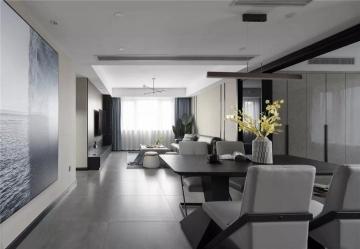 126平三室现代简约装 ...